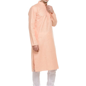 Kurta Pajama Set peach